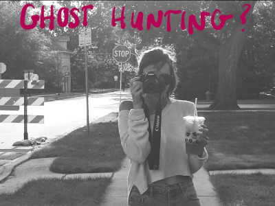 I WENT GHOST HUNTING?? (and life update)