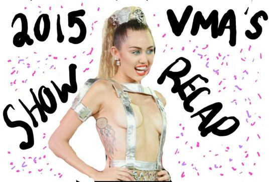 VMA'S 2015 – SHOWRECAP