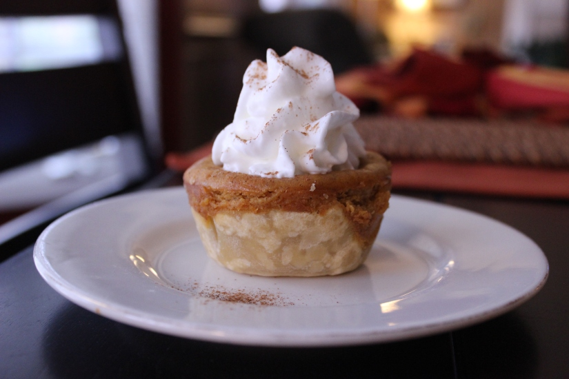 Easy Mini Pumpkin Pies